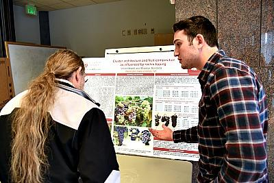 WSU studet explains his project Picmonkey