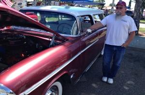 Mark Maier and his nifty '55 Nomad