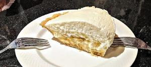 Banana Cream Pie has been a staple for years at Frank Fat's