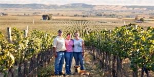The Shiels Family at DuBrul Vineyard