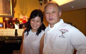 Lily and David Kong at Perche No