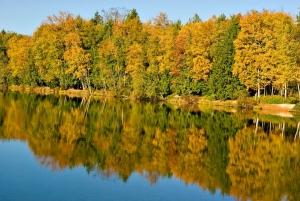Colors are changing at Gissberg Twin Lakes Park