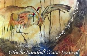 Othello Hosts Sandhill Crane Fest