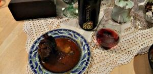 Wind Rose Short Ribs in Wine Tomato Sauce